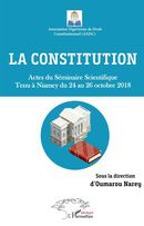 La constitution. Actes du Séminaire Scientifique tenu à Niamey du 24 au 26 octobre 2018
