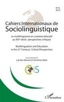 Cahiers internationaux de Sociolinguistinque n°16
