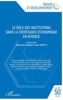 Le rôle des institutions dans la croissance économique en Afrique