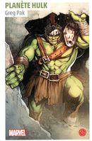 Roman Marvel - Planète Hulk