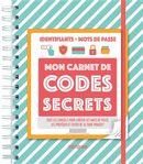 Mon carnet de codes secrets Mémoniak 2021