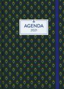 L'agenda de mon année 2021 - Paon