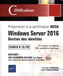 Windows Server 2016 - Gestion des identités - MCSA