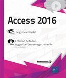 Access 2016 - Complément vidéo  Création de table et gestion des enregistrements