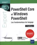 PowerShell Core et Windows PowerShell 2e édition