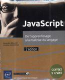 JavaScript - De l'apprentissage à la maîtrise du langage 2e édition