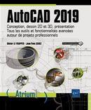 AutoCAD 2019 - Conception, dessin 2D et 3D, présentation...