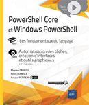 PowerShell Core et Windows PowerShell  - Les fondamentaux du langage