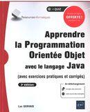 Apprendre la Programmation Orientée Objet avec le langague Java 3 édition