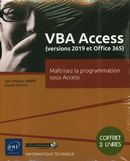 VBA Access (versions 2019 et Office 365) : Maîtrisez la programmation sous Access
