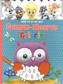Compte-observe et colorie Bébé Titi et ses amis