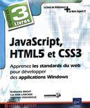 JavaScript, HTML5 et CSS3