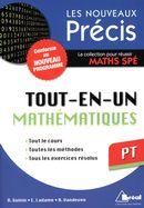 Tout-en-un Mathématiques PT