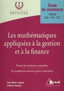 Les mathématiques appliquées à la gestion et à la finance