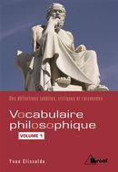 Vocabulaire philosophique 01