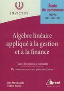 Algèbre linéaire appliqué à la gestion et à la finance
