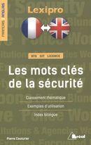 Les mots clés de la sécurité : français/anglais