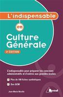 L'indispensable en culture générale 3e édition