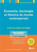 Économie, Sociologie, et Histoire du monde contemporain 2018-2019