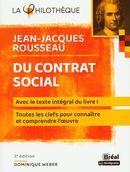 Du contrat social de Jean-Jacques Rousseau : Avec le texte intégral du livre I - 3e édition