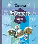 Découvre la France avec 6 grandes cartes à déplier