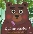 Les animaux de la forêt - Qui se cache ?