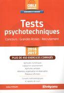 Tests psychotechniques 2016-2017