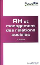 RH et management des relations sociales 2e édition