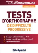 Tests d'orthographe de difficulté progressive N.E.