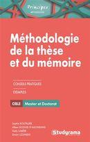 Méthodologie de la thèse et du mémoire