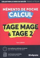 Mémento de poche calcul - Tage Mage et Tage 2