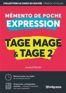 Mémento de poche expression - Tage mage et Tage 2