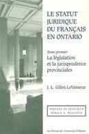 Statut juridique du français en Ontario