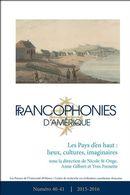 Francophonies d'Amérique 40-41