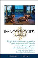 Francophonies d'Amérique 44-45