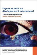 Enjeux et défis du développement international : Acteurs et champs d'action N.E.