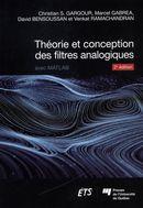 Théorie et conception des filtres analogiques 2e édition