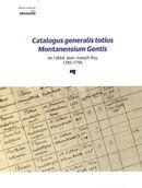 Catalogus generalis totius Montanensium Gentis de l'abbé Jean-Joseph Roy
