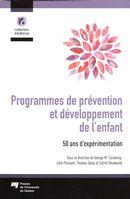 Programmes de prévention et développement de l'enfant : 50 ans d'expérimentation