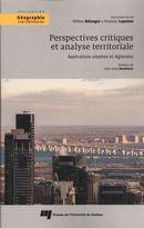 Perspectives critiques et analyse territoriale : Applications urbaines et régionales