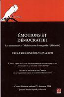 Emotions et démocratie 01 : Les moments où « l'Histoire sort de ses gonds »