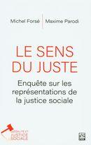 Le sens du juste.  Enquête sur les représentations de la justice sociale