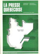 Presse québécoise des origines à nos jours t.6 (1920-1934)
