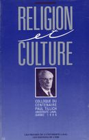 Religion et culture.