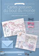 Cartes postales du bout du monde en broderie traditionnelle