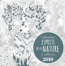 Calendrier esprits de la nature à colorier 2019