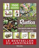 L'encyclo Rustica du jardin en geste par geste N.E.