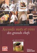 50 recettes de chefs et leurs accords vins