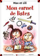 Max et Lili - Mon carnet de lites