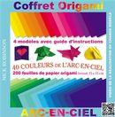 Coffret Origami : 40 couleurs de l'Arc-en-ciel